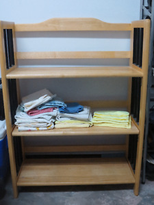2 ALL WOOD BOOKCASES