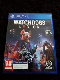 Watchdogs Legion PS4 - Free PS5 Upgrade - Mint Condition