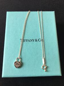 TIFFANY&CO: Return to Tiffany Heart Tag Necklace & Pendant