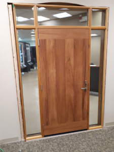 Exterior Door Showroom Sample