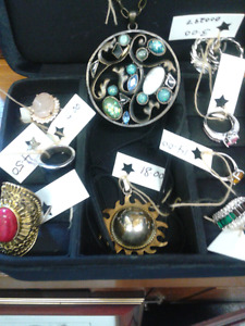 Beautiful jewelry at Second Stage