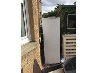 Large free standing hot point future freezer
