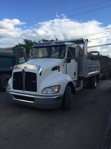 KENWORTH T170, 6 ROUES, DOMPEUR