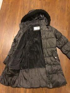 London Fog girls size 7-8 long winter coat