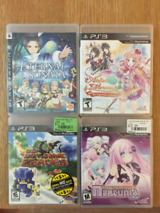 Various RPG for ps3 some rare ones too JRPG