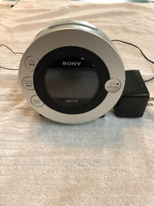 Sony Alarm Clock - DVD player