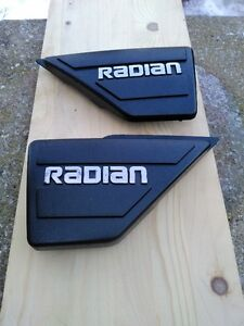 YAMAHA RADIAN 600 YX600 1986 TO 1990 RADIAN SIDE COVERS LH & RH