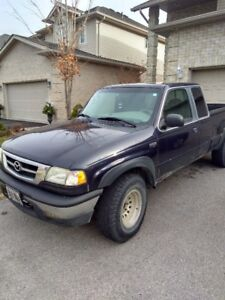 2003 Mazda B-4000 4x4 Extended Cab