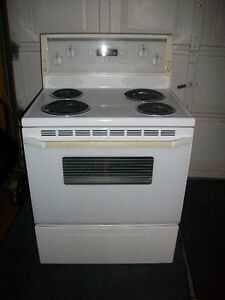 Electric Stove-whirlpool