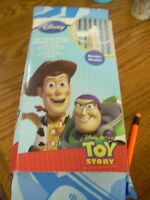 Disney toy story curtains brand new 2 panels each 42 x 63 with t