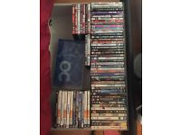 DVDs and a few PCC games