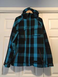 Burton hooded outer shell