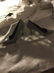 Light grey high heel Kitchener / Waterloo Kitchener Area image 2