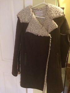 Pink Martini lined winter coat