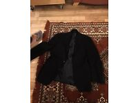 Men's M & S winter jacket (pure wool)