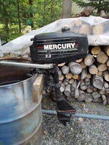hors bord mercury 2.2