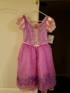 Rapunzel dress and braided crown