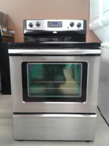 STOVE WHIRLPOOL convection STAINLESS S GLASS TOP