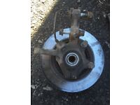 Renault Clio 1.2 N/S front hub with ABS