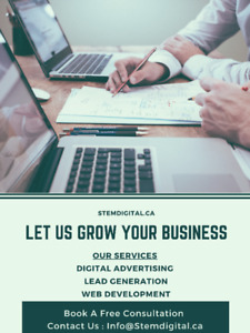 Digital Marketing Services   Let Us Help Your Business grow !