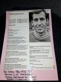 RAY HIRON PORTSMOUTH FC
