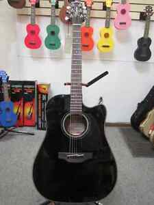 Takamine GD30CE-BLK Acoustic Electric Guitar Black Beauty!