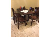 Job Lot tables and Chairs