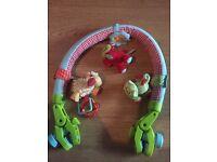 ELC Baby buggy activity arch