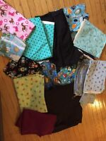 Lots of Fabric for sewing or quilting