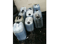 used engine oil free free 10 tubs used engine oil,collect only wigan