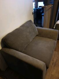 DFS Grey Cuddler sofa