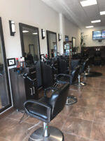 Salon workspace for rent in busy upscale Hair Salon.