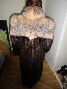 Manteau de fourure