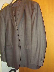 Zanetti Designer Suit Made In Italy Mens
