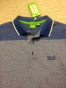 HUGO BOSS GREEN LABEL men's golf polo shirt size S new with tags
