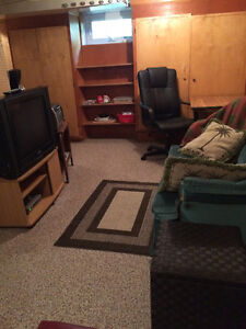 Furnished Quiet Basement Suite