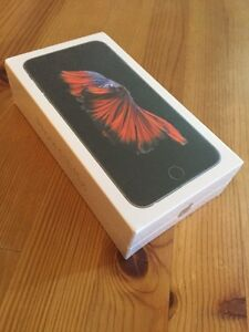 ROGERS/FIDO/CHATR 128GB GB Space iPhone 6S Plus! SEALED BOX!