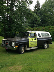 1973 to 1987 Chevrolet C  Pickup 2500 Pickup Truck