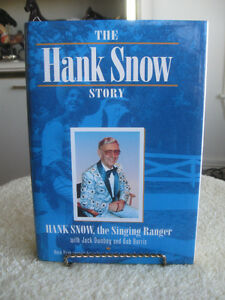 "COLLECTIBLE AUTOBIOGRAPHY.."" HANK SNOW..The SINGING RANGER"""