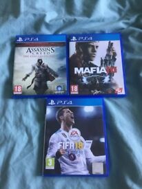 PS4 games bundle,read description