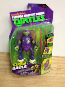 TMNT Donatello Throw N Battle NIP X-mas Gift