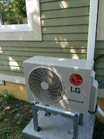 Mini-split heat pumps from LG! Fall promo on now!