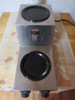 COFFEE BURNER 2 TIER. USED AND WORKING