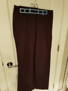 Fleece lined Ski Snowboard Pants – Deep Plum $30