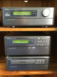 Denon Mini-Stereo System and Speakers