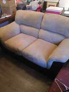 Couch and chair decent shape 75$ pair