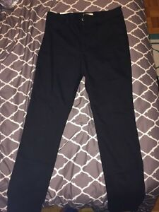 H&M Skinny high waist black jeans
