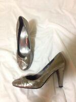Dark Silver Heels size 8