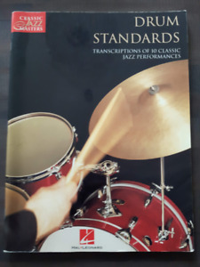Livre - Drum Standards - 10 transcriptions de performances jazz