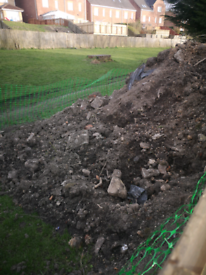 Soil and rubble for free
